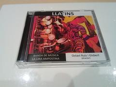 Llatins, el nou CD de La Lira Ampostina