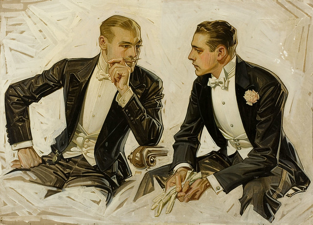 The Donchester - the Cluett Dress Shirt JOSEPH CHRISTIAN LEYENDECKER por Tropic~7