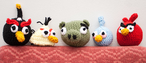 Angry Bird lineup
