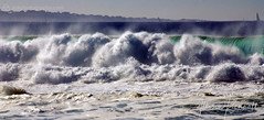 Big Wave Day (Allison Kendall) Tags: ocean california blue winter sea nature water sailboat monterey big scenery surf waves force power pacific crash tide horizon large wave surfing spray strong splash roar powerful swell tides forces froth