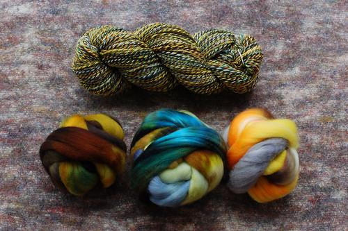 Combo SAL Yarn & Fiber 2