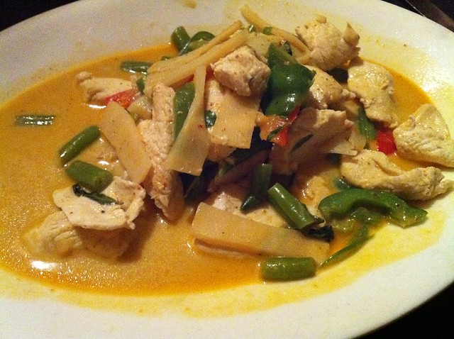 Red Curry from Bhan Thai, Memphis, Tenn.