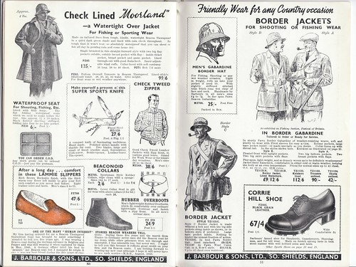 Barbour 1953 Catalogue 25