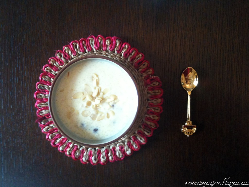Indian dessert- Phirni