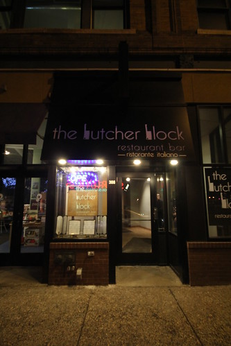 Entrance to Butcher Block