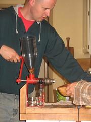 pressing acorn oil