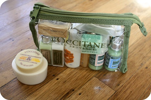 Birthday present: L'Occitane gift set