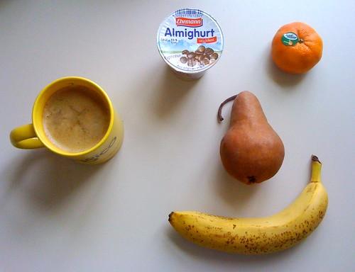 Almighurt Espresso, Clementine, Banane & Birne