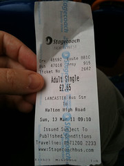 My first journey on the 81A.