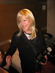 Wendy half cut (wendy_glos) Tags: pink sexy girl kat julie boots femme tgirl sally blonde transvestite heels fishnets trans wendy vickie punters bno tvchix crossdreser