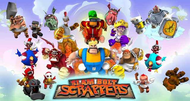 Slam Bolt Scrappers for PS3 (PSN)