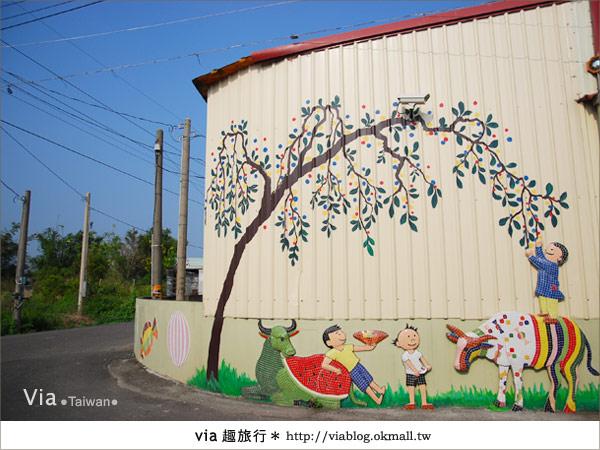 【嘉義景點】新港板頭村交趾剪粘藝術村~到處都是有趣的拍照景點!21