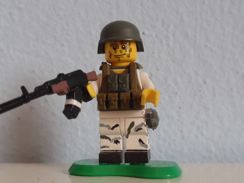 Custom minifig Russian Paratrooper