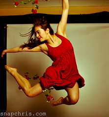 Lisa Gauyan : dancer jumps and poses amo by tibchris, on Flickr