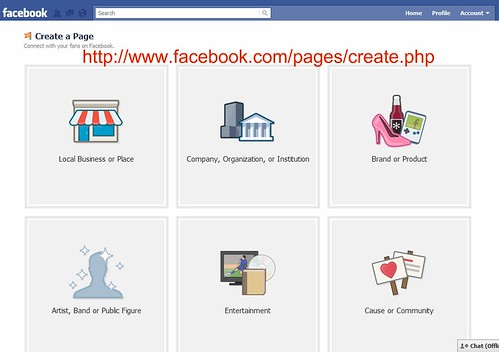 New Facebook Pages: Create a new Page