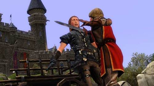 The Sims Medieval - How To Start A New Ambition Without Rebuilding Your Kingdom