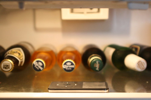 ipod in fridge