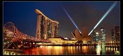 singapore Marina Bay (Kenny Teo (zoompict)) Tags: show museum marina bay yahoo google singapore laser sands artscience zoompict kennyteo