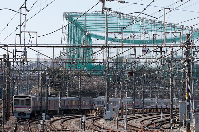 京王電鉄7000系 7201F 回送