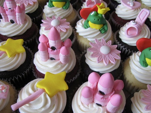 5542050559 74365a65d9 Princess Cupcake Ideas