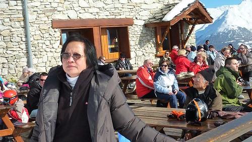 Vacances skis famille magain duong Aussois Maurienne Savoie 12-19 mars 2011 354