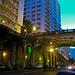Viaduto Otávio Rocha - Av Borges de Medeiros - Centro de Porto Alegre -Brasil