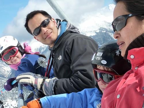 Vacances skis famille magain duong Aussois Maurienne Savoie 12-19 mars 2011 347