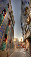 Iranian Quarter in Dubai (comradestokesi) Tags: dubai uae east quarter middle hdr creekside flickraward irainan