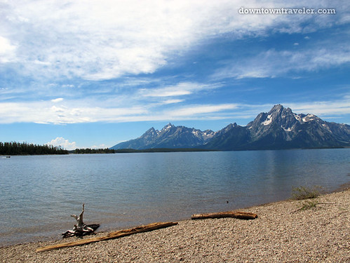 Lake at Grand Teton National Park