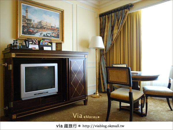 【澳門住宿】澳門威尼斯人酒店~享受奢華的住宿風格!22