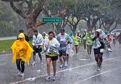 Determined (benrobertsabq) Tags: storm cold wet rain la losangeles pain marathon windy running runners guts soaked lamarathon 12145 13168 16516 patriciabaldelomar dennisnemer reginaldcarter