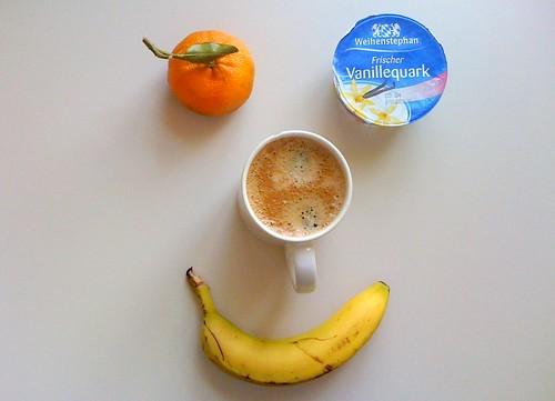 Vanillequark, Clementine & Banane