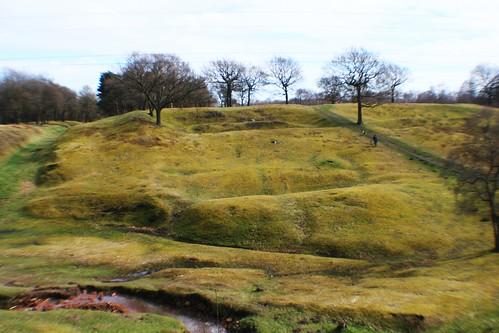 Rough Castle Roman Fort