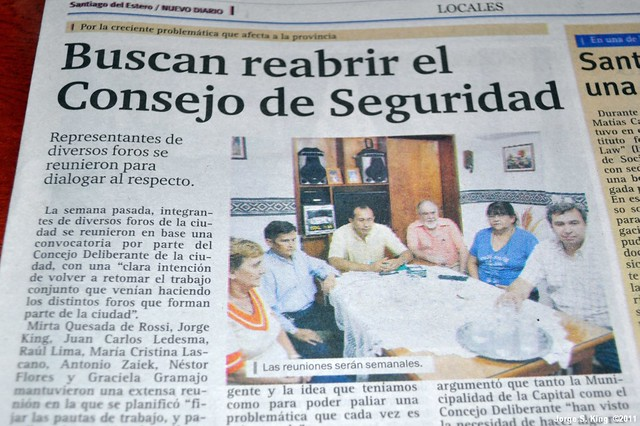 Nota del Nuevo Diario 21/03/2011