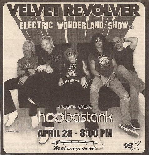 04/28/05 Velvet Revolver/Hoobastank @ St. Paul, MN