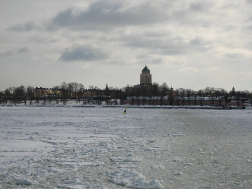 Suomenlinna in winter