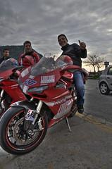 Ducati Passion (Angelo Pesce Ischia) Tags: red love bike speed island nikon italia power bridgestone shell moto biker angelo ducati ischia hdr stoner pesce d5000