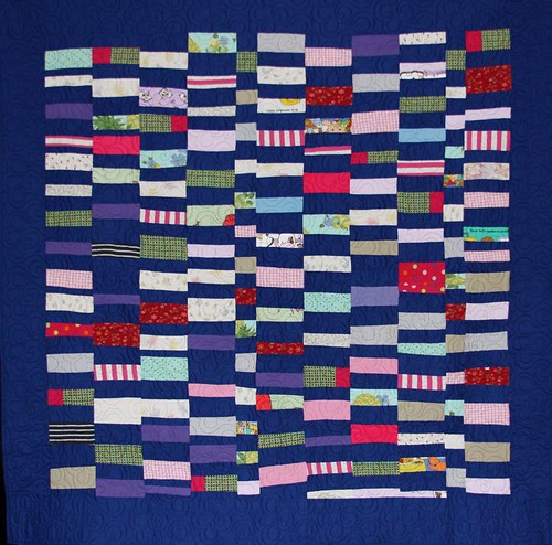 memory quilt, quilt from recycled fabrics, recycled clothing quilt, mamaka mills, alix joyal