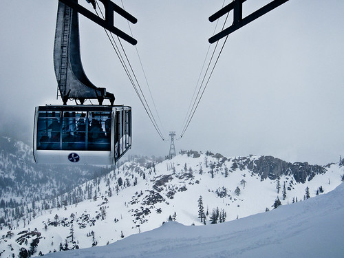 Incoming Cable Car