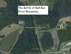 The Battle of Bull Run (Manassas, VA)