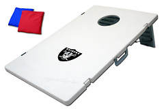 Oakland Raiders TailGate Toss 2.0 Plastic Cornhole Boards