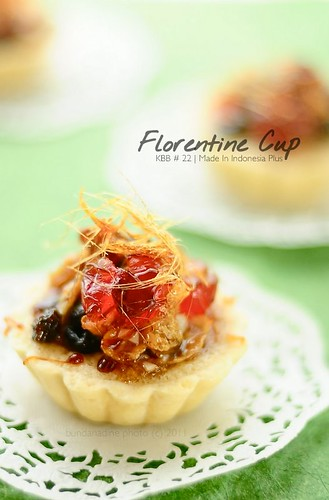 KBB # 22 - Florentine cup with spun sugar