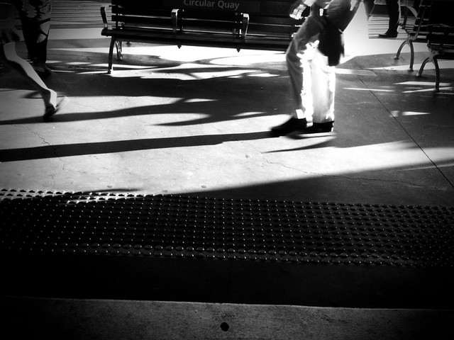 platform shadows
