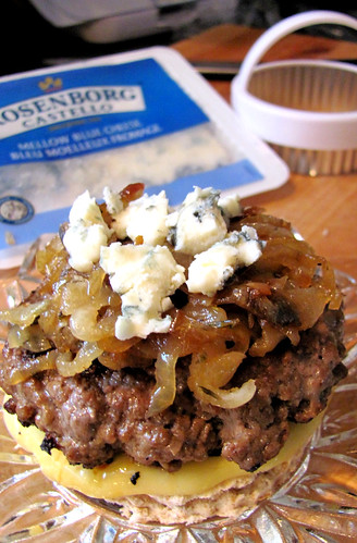 Bitchin Kitchen Blue-Cheese Burgers