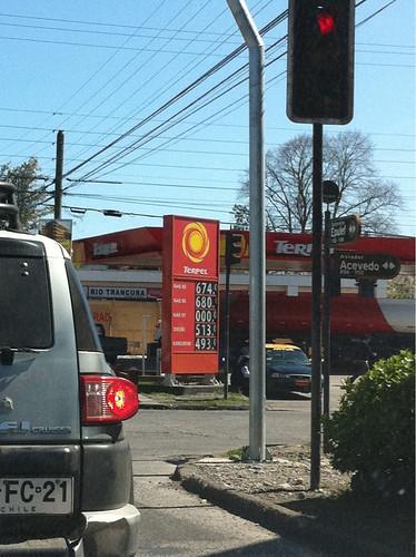 Chilean Gas Station