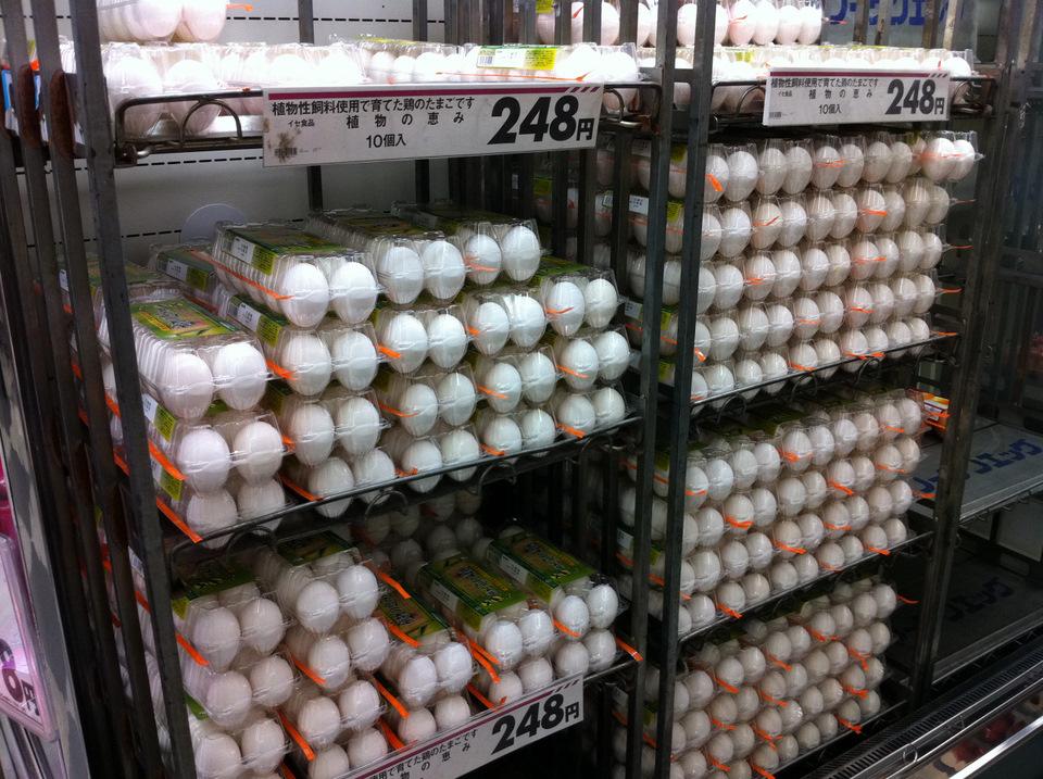 Eggs a plenty