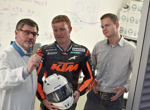 Stefan Nebel and our Head of Engineering, Motorcycle_2