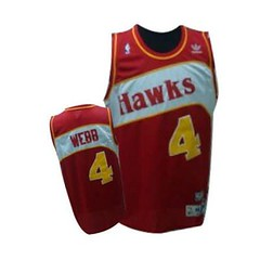 Atlanta Hawks #4 Spud Webb Red Throwback Jersey (Terasa2008) Tags: jersey atlantahawks  cheapjerseyswholesale cheapmlbjerseys mlbjerseysfromchina mlbjerseysforsale cheapatlantahawksjerseys