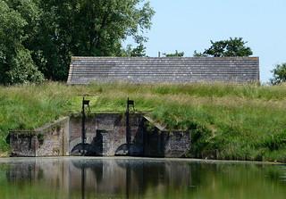 Wolphaartsdijk, Sluis De Piet, uitwateringssluis