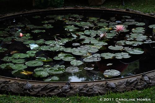 Antique cast iron pond